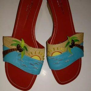 Michael Simon Beach Sunset Sandals 7